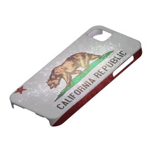 Bandera californiana iPhone 5 Case-Mate protector