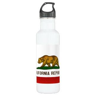 Bandera californiana pelada moderna