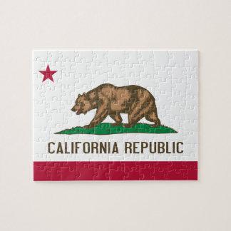 Bandera californiana puzzle