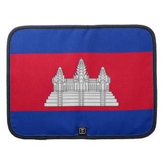 Bandera camboyana planificadores