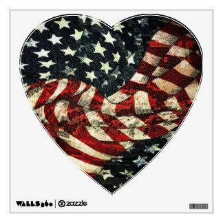 Bandera-Camuflaje americano de Shirley Taylor Vinilo Adhesivo