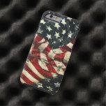 Bandera-Camuflaje americano Funda De iPhone 6 Tough
