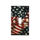 Bandera-Camuflaje americano Placas Para Interruptor