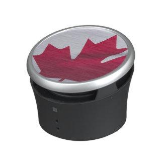 Bandera canadiense altavoz