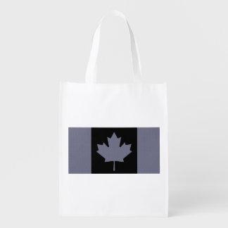 Bandera canadiense bolsa de la compra