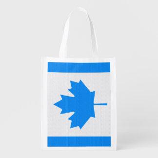 Bandera canadiense bolsa para la compra