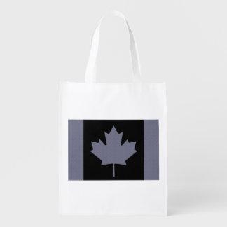 Bandera canadiense bolsas para la compra