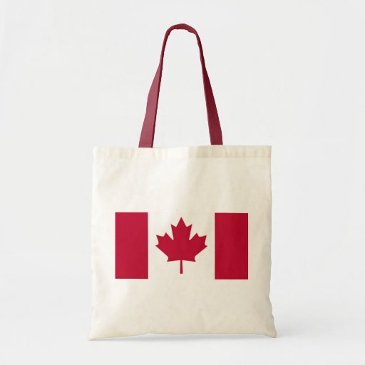 Bandera canadiense bolsas