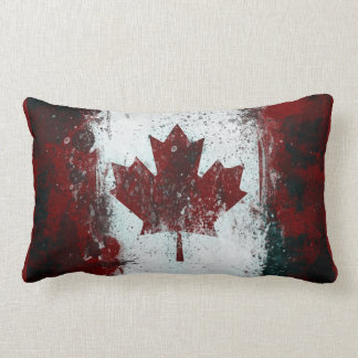 Bandera canadiense cojín lumbar
