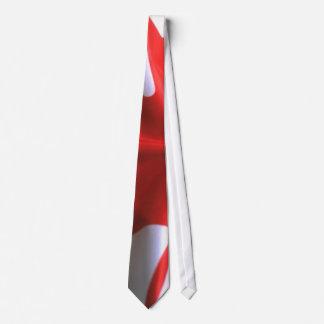 Bandera canadiense corbatas personalizadas