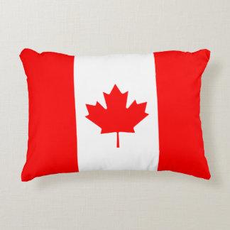 Bandera canadiense de la hoja de arce de Canadá Cojín Decorativo