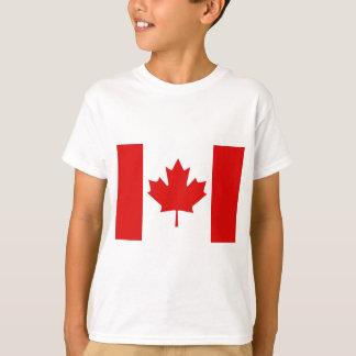Bandera canadiense de la hoja de arce de Canadá Poleras