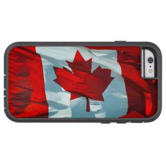 Bandera canadiense de la imagen patriótica de la funda de iPhone 6 tough xtreme