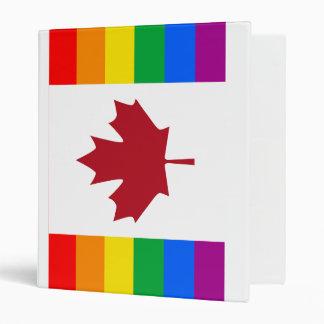 BANDERA CANADIENSE DEL ORGULLO GAY