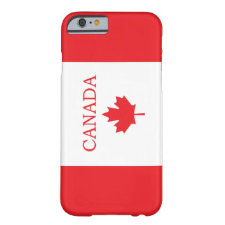 Bandera canadiense funda de iPhone 6 barely there