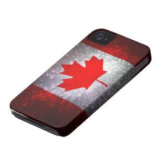 Bandera canadiense Case-Mate iPhone 4 funda