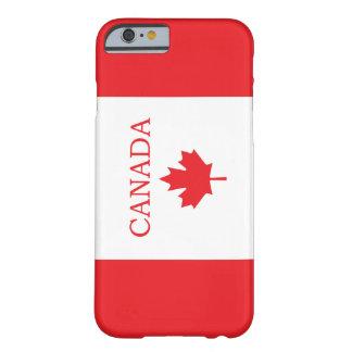 Bandera canadiense funda de iPhone 6 slim