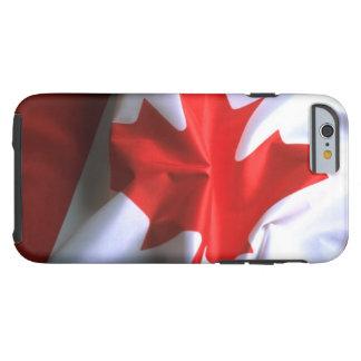 Bandera canadiense funda resistente iPhone 6