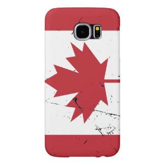 Bandera canadiense funda samsung galaxy s6