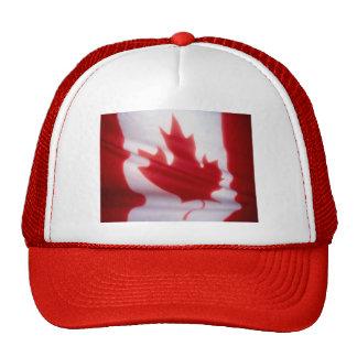 Bandera canadiense gorra