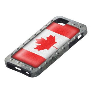 Bandera canadiense industrial funda para iPhone SE/5/5s
