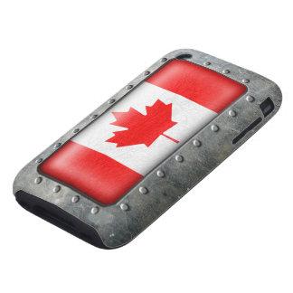 Bandera canadiense industrial funda though para iPhone 3