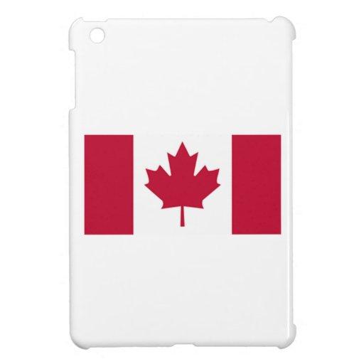 Bandera canadiense iPad mini fundas