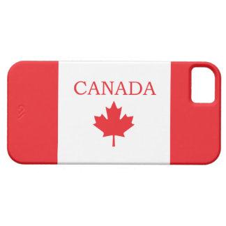 Bandera canadiense iPhone 5 Case-Mate funda