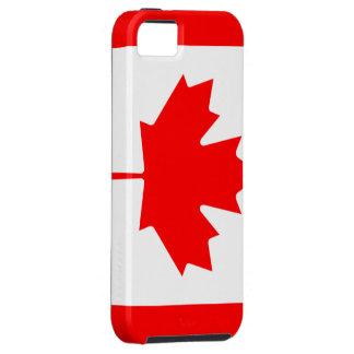 Bandera canadiense iPhone 5 fundas