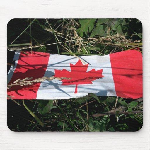 Bandera canadiense Mousepad