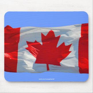 BANDERA CANADIENSE Mousepad patriótico
