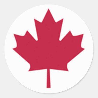 Bandera canadiense pegatinas