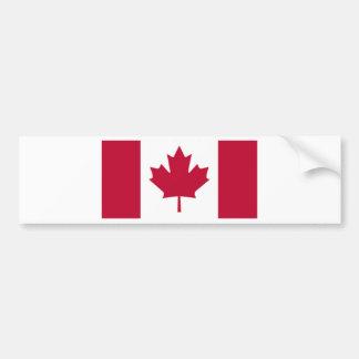 Bandera canadiense pegatina para auto
