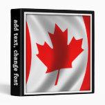 """Bandera canadiense que agita carpeta 1"""""""