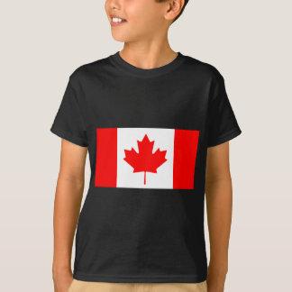 Bandera canadiense remera