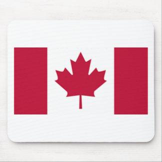 Bandera canadiense alfombrilla de raton