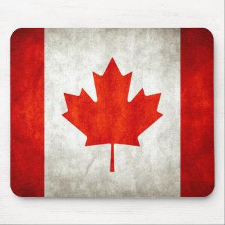 bandera canadiense alfombrilla de ratones