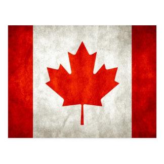 Bandera canadiense postal
