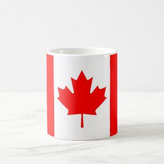 bandera canadiense tazas