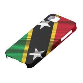 Bandera caso del iPhone 5 del santo San Cristobal  iPhone 5 Protectores