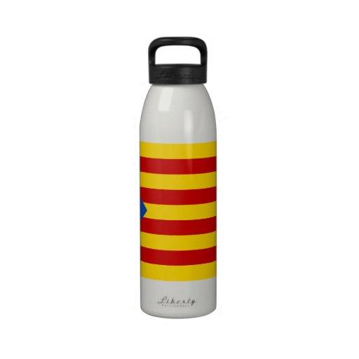 """Bandera catalana de la independencia de """"L'Estelad Botellas De Beber"""