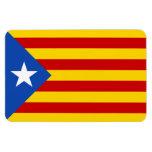 """Bandera catalana de la independencia de """"L'Estelad Imanes Rectangulares"""