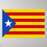 """Bandera catalana de la independencia de """"L'Estelad Póster"""