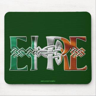 Bandera céltica irlandesa Mousepad de EIRE del nud Alfombrillas De Ratón
