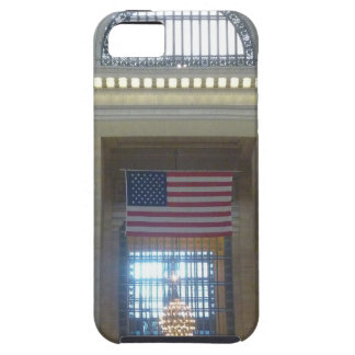 bandera central magnífica iPhone 5 Case-Mate protector