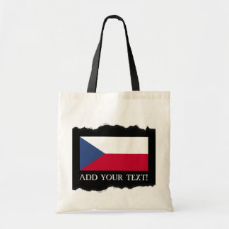 Bandera checa bolsa tela barata