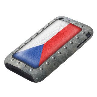 Bandera checa industrial carcasa though para iPhone 3