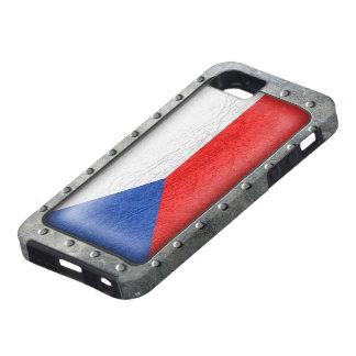 Bandera checa industrial funda para iPhone SE/5/5s