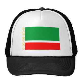 Bandera chechena de la república gorros