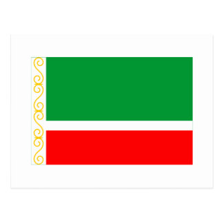 Bandera chechena de la república postal